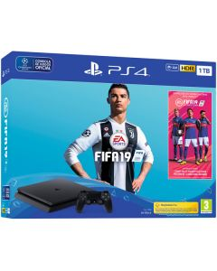 PlayStation 4 Slim 1TB FIFA 19 Bundle (Black)