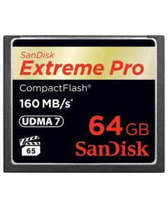 SanDisk Extreme PRO 64GB Compact Flash Memory Card UDMA 7 Speed Up To 160MB/s 1067x