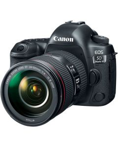 "Canon EOS 5D Mark IV Lente 24-105mm f/4L II 30.4mp Pantalla 3.2"" Touch Video DCO 4K/30 WiFi GPS CF & SD ISO32000"