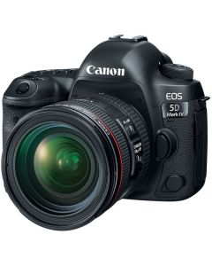 "Canon EOS 5D Mark IV WG Lente 24-70mm f/4L  IS USM 30.4mp Pantalla 3.2"" Touch Video DCO 4K/30 WiFi GPS CF & SD ISO32000"