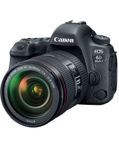 Canon EOS 6D Mark II DSLR Camera with 24-105mm f/4L II