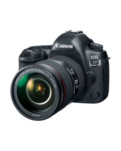 """Canon EOS 5D Mark IV Lente 24-70mm f/4L IS USM 30.4mp Pantalla 3.2"""" Touch Video DCO 4K/30 WiFi GPS CF & SD ISO32000"""