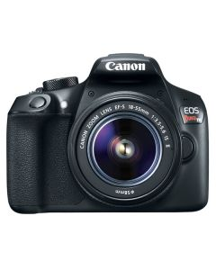 "Canon EOS Rebel T6 Lente EF-S 18-55mm f/3.5-5.6 IS II 18mp Pantalla 3.0"" Video 1080/30p WiFi ISO12800"