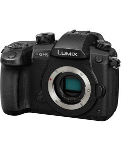 Panasonic Lumix DC-GH5 Mirrorless Micro Four Thirds Digital Camera (Cuerpo Solo)