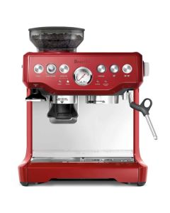 Cafetera Breville The Barista Express BES870XL (Cranberry Red)