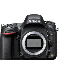 "Nikon D610 FX Body 24.3mp Pantalla 3.2"" Video 1080/30p ISO6400"