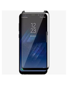 Clear View Standing Cover Samsung Galaxy S8 Plus - Blue y Silver